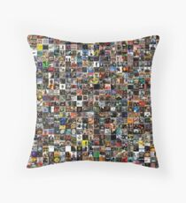 Homage To Golden Age Hip Hop Throw Pillow