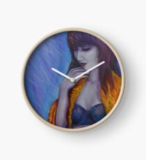 PONDEROUS INDENTATIONS Clock