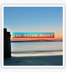 The Outer Banks. Sticker