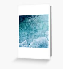 Over The Clouds Greeting Card