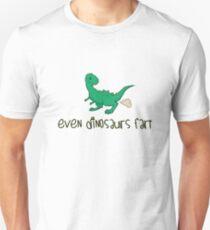 Even Dinosaurs Fart Unisex T-Shirt