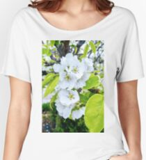 Apple Blossoms After Snow Women's Relaxed Fit T-Shirt