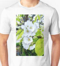 Apple Blossoms After Snow Unisex T-Shirt