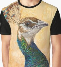 Peahen Graphic T-Shirt