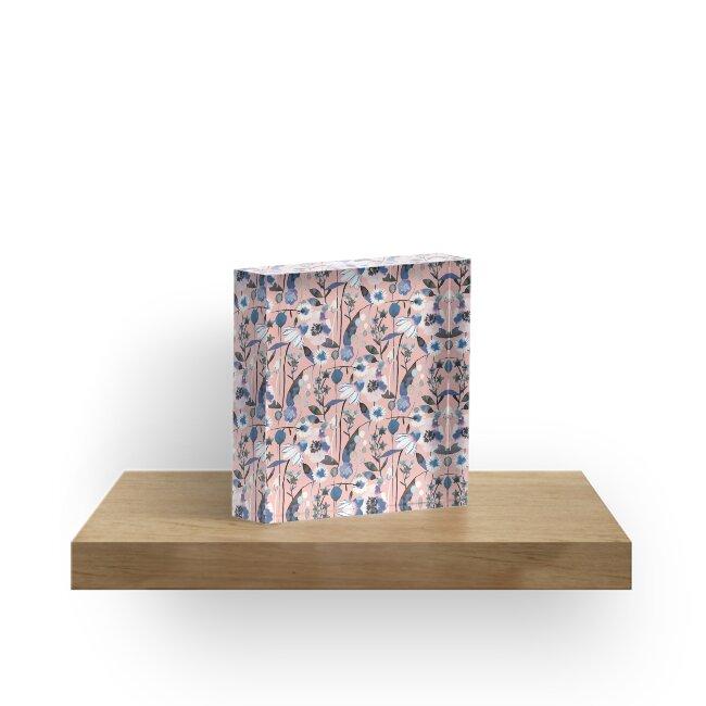 Pink pastel flowers pattern by ninoladesign