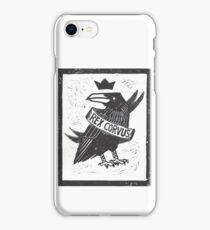 Raven King iPhone Case/Skin