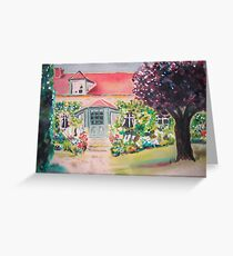 Garden in Giverny, France Greeting Card