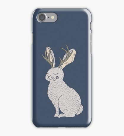 Serene Jackalope iPhone Case/Skin