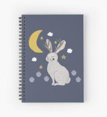 Serene Jackalope Spiral Notebook