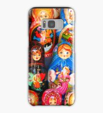 Valley of the Russian Nesting Dolls Samsung Galaxy Case/Skin
