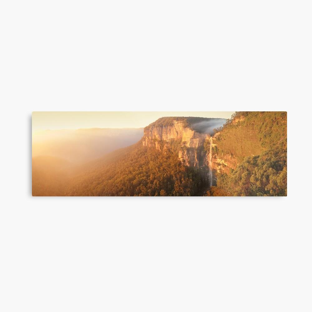 Bridal Veil Falls, Blue Mountains, New South Wales, Australia Metal Print