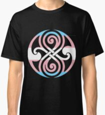 Transgender Pride Seal of Rassilon Classic T-Shirt