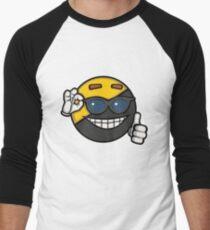 Ancap Man Men's Baseball ¾ T-Shirt