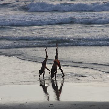 Girls on the beach by agnessa38