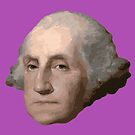 George Washington's Head by MaritaChustak