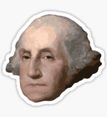 George Washington's Head Sticker