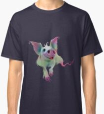 Psychedelic Pig Classic T-Shirt