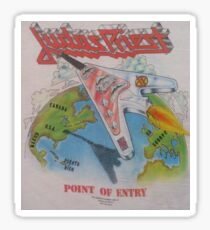 Classic Metal- Point of Entry Tour Sticker