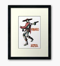 Ember Rush - Fernando Framed Print