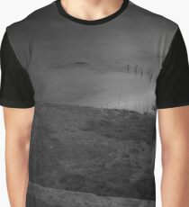 View Over The Fence On Hempstead Bay | Sands Point, New York Graphic T-Shirt