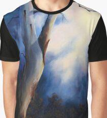 BLUE MOOD Graphic T-Shirt