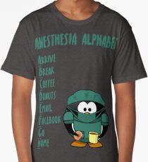 Anesthesia Alphabet Long T-Shirt