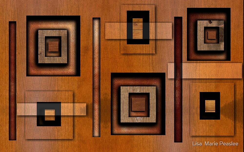 Blocks 'o' Wood by Lisa  Marie Peaslee