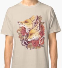 Red Fox Bloom Classic T-Shirt