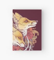 Cuaderno de tapa dura Red Fox Bloom