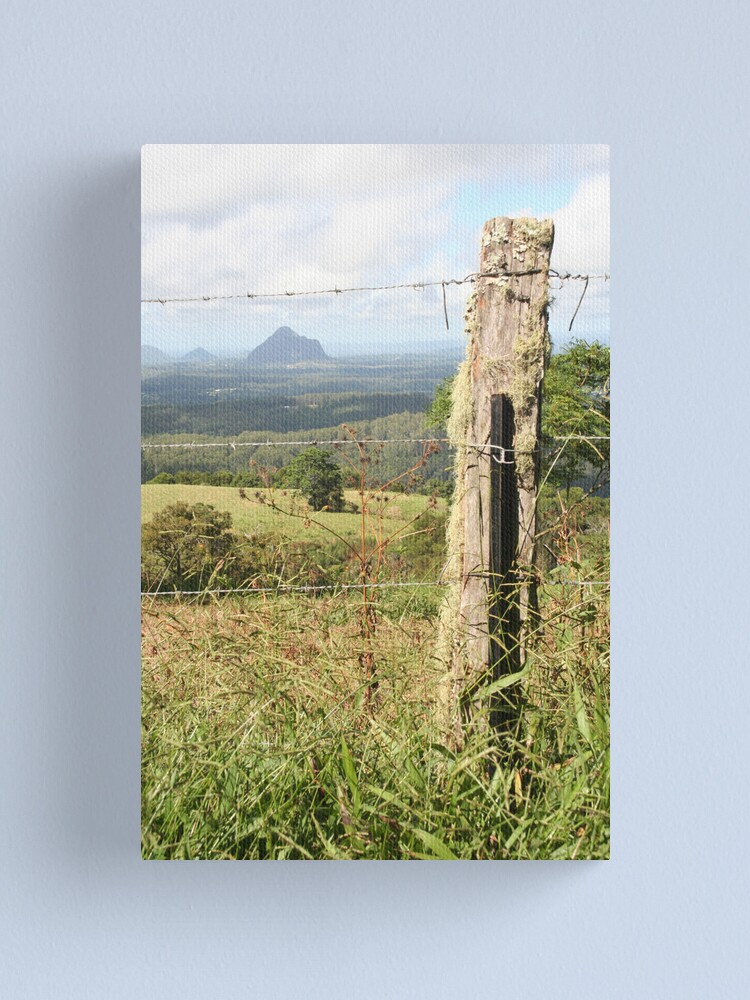 Alternate view of The Fence Canvas Print