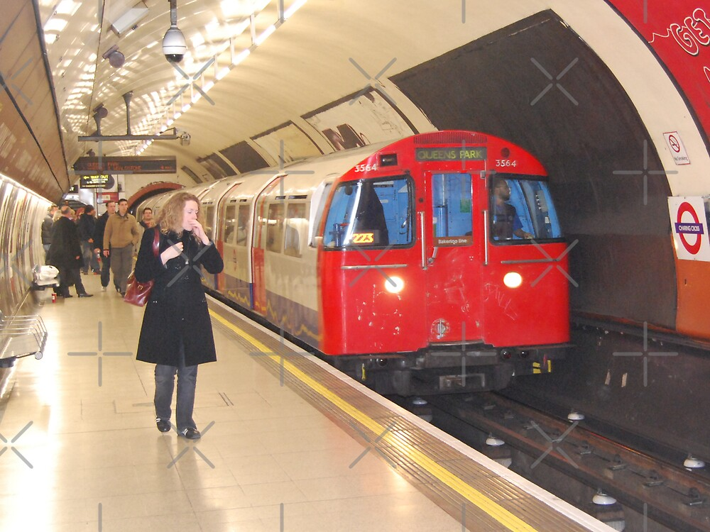 Down in a Tube Station at Midnight by Peter Green