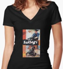 Fury Women's Fitted V-Neck T-Shirt