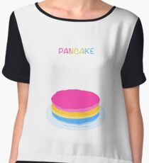 Pancake Women's Chiffon Top
