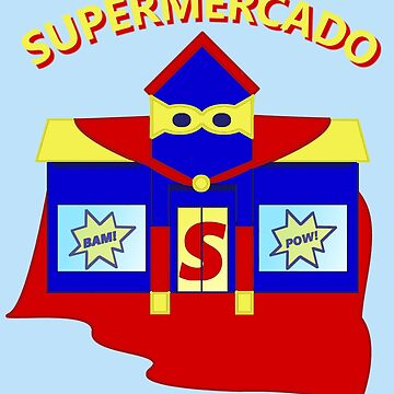 Supermercado | Funny Spanish Teacher Design by Perspectvas