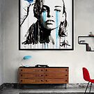 for you blue (room scale) by Loui  Jover