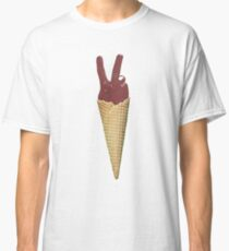 Peace Sign Cone Classic T-Shirt