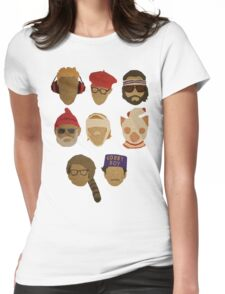 Wes Anderson's Hats Womens Fitted T-Shirt