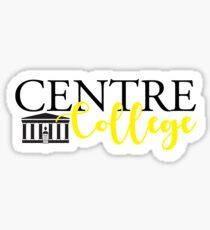 Centre College  Sticker