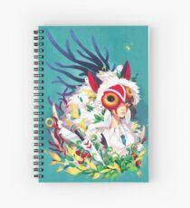 Cuaderno de espiral La princesa Mononoke