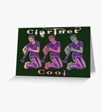 Clarinet Cool Greeting Card