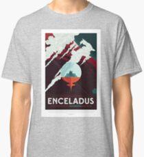 NASA JPL Space Tourism: Enceladus Classic T-Shirt