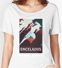 NASA JPL Space Tourism: Enceladus Women's Relaxed Fit T-Shirt