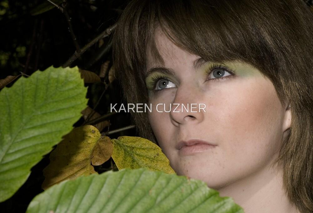 AUTUMN GIRL by KAREN CUZNER