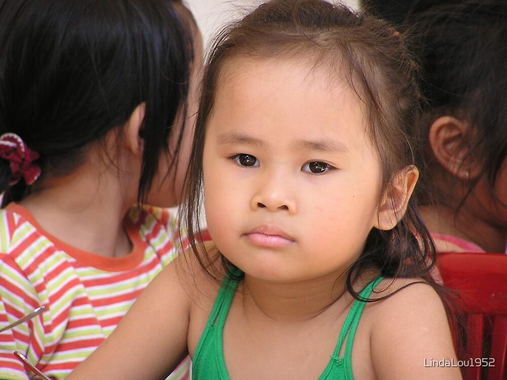 Kindergarten Visit , Nha Trang Vietnam by LindaLou1952