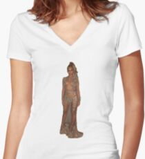Beyonce Da QUEEEEN Women's Fitted V-Neck T-Shirt
