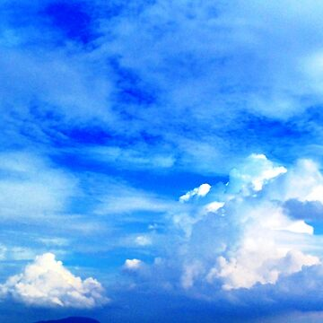 Floating Clouds in the sky by Kathryn8