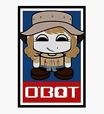 World Traveler O'bot Toy Robot 2.0 Photographic Print