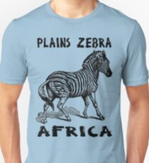 PLAINS ZEBRA Unisex T-Shirt