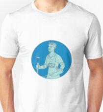 Schweißer Acetylen Schweißbrenner Mono Line Unisex T-Shirt