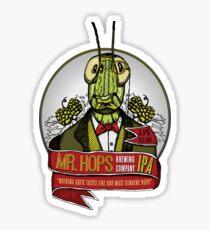 Mr. Hops Sticker